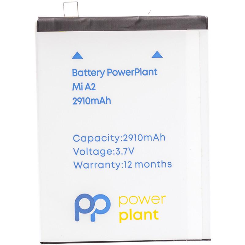 Аккумулятор PowerPlant Xiaomi Mi A2 (BN36) 2910mAh
