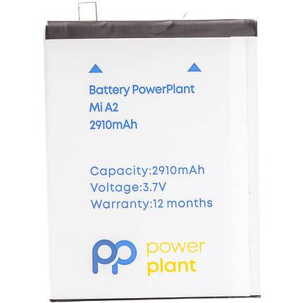 Аккумулятор PowerPlant Xiaomi Mi A2 (BN36) 2910mAh, фото 2