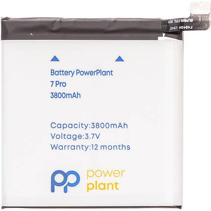 Аккумулятор PowerPlant OnePlus 7 Pro (BLP699) 3800mAh, фото 2