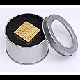 Конструктор-головоломка Neocube UTM Тетракуб + Металлическая коробка в подарок, фото 2