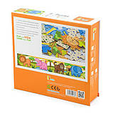 Набор деревянных пазлов Viga Toys Джунгли 4 в 1, 48 эл. (50068VG), фото 3