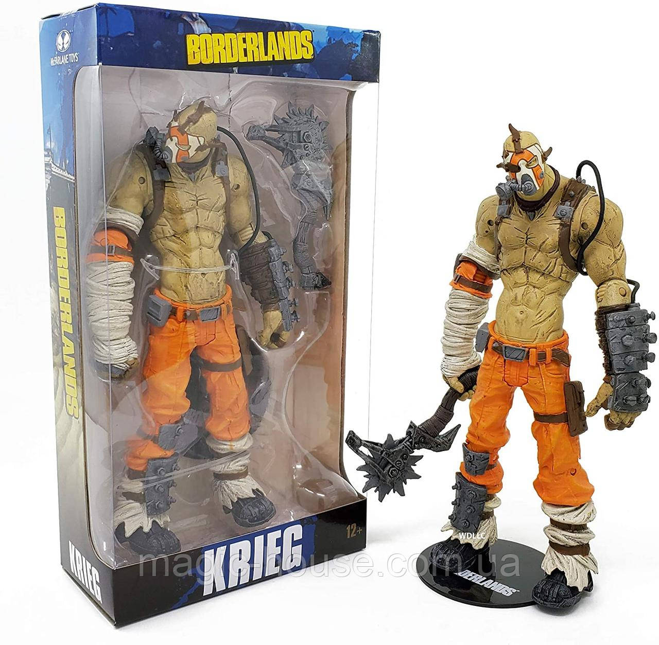 Фигурка бандита Крига McFarlane Toys Borderlands  Krieg Action Figure