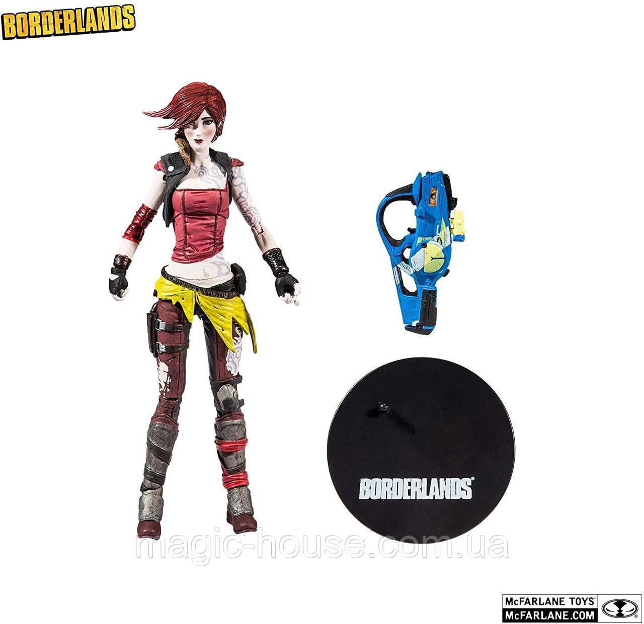 Фігурка Ліліт Екшн McFarlane Toys 10253-6 Borderlands Lilith Action Figure