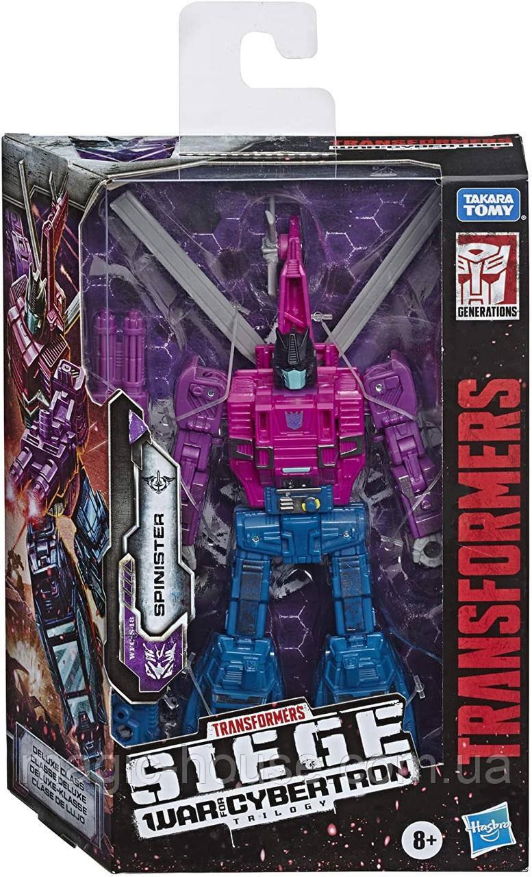 Фигурка Трансформер Спинистер Spinister Оригинал Transformers Generations War for Cybertron Deluxe Wfc-S48