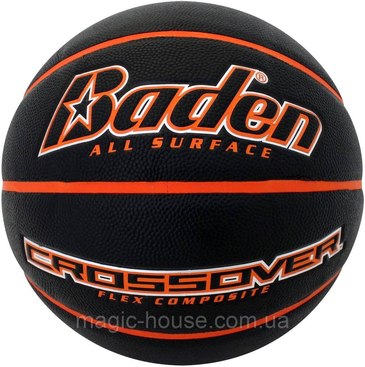 Мяч баскетбольный Baden Crossover Composite оригинал размер 6