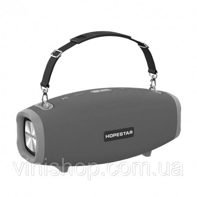 Портативна бездротова Bluetooth-колонка Hopestar H41 Сірий колір.