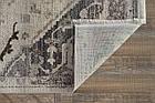 Ковер винтаж SEVEN DAYS 0158 1,85Х1,33 Серый прямоугольник, фото 4