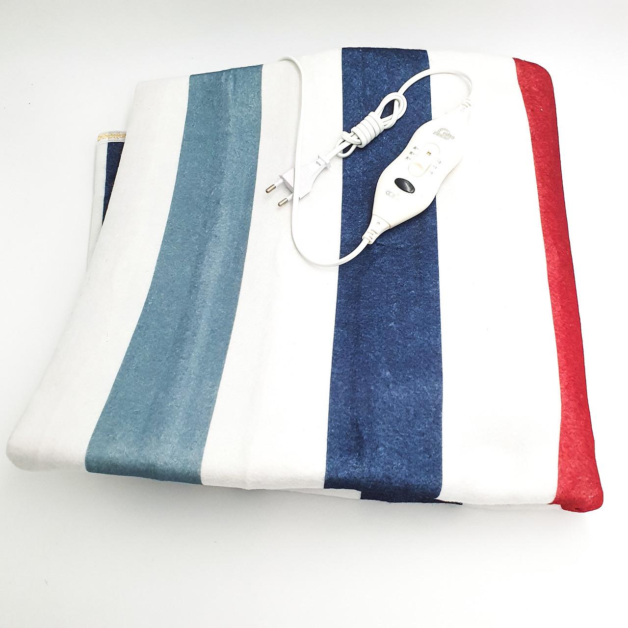 Электропростынь электро грелка электрическая простынь одеяло с сумкой electric blanket 150*160 см 120 Вт