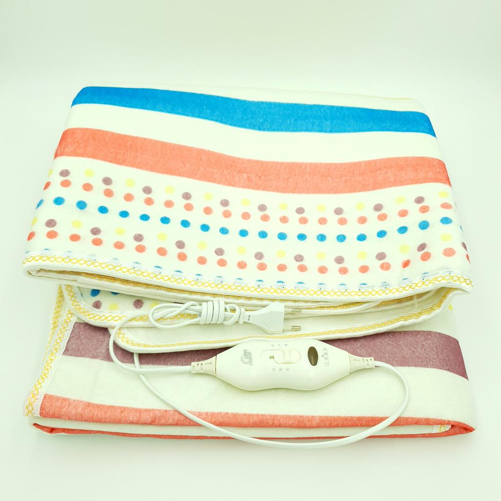 Электропростынь электро грелка электрическая простынь одеяло с сумкой electric blanket 120*150 см 86 Вт