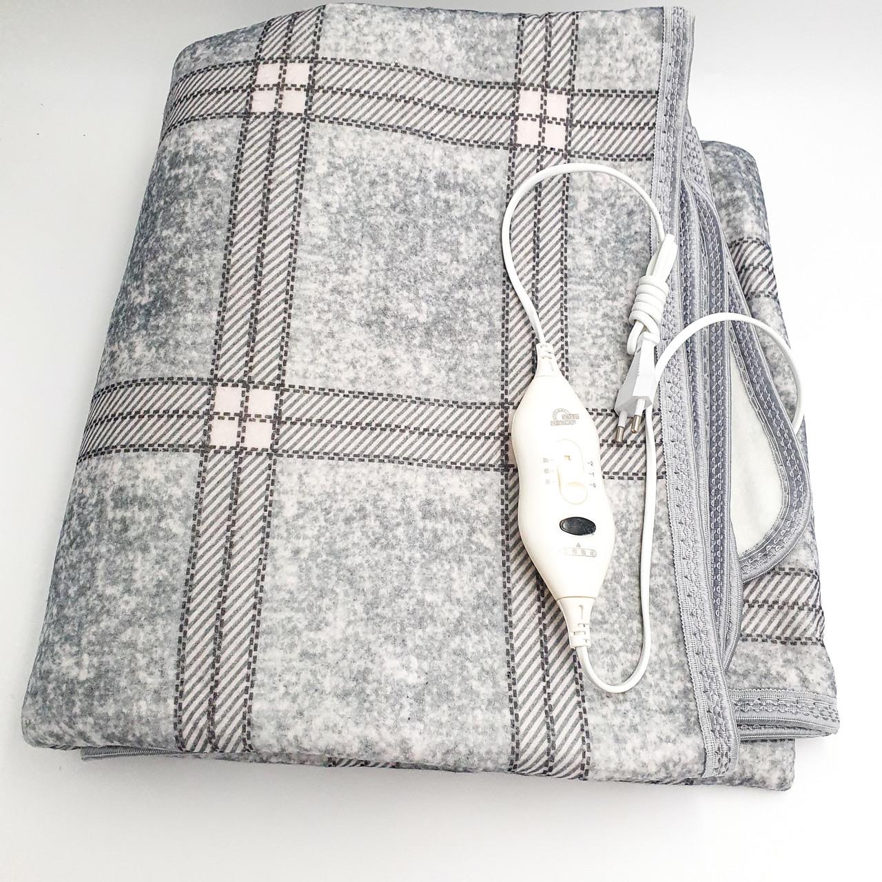 Электропростынь электро грелка электрическая простынь одеяло с сумкой electric blanket150*160 см 120 Вт