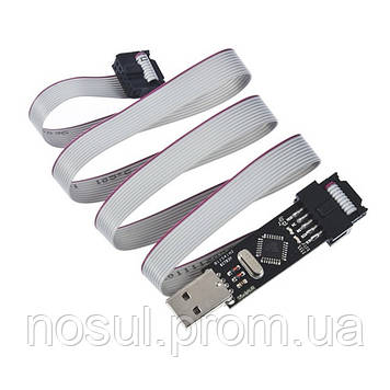 USB программатор USBASP ISP 10 Pin +кабель (ATMega8 AVRDude CAN PWM Series)