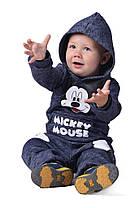 Е1203 Детский спортивный костюм на флисе , фото 2