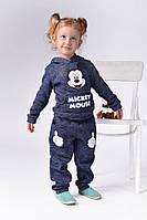 Е1203 Детский спортивный костюм на флисе