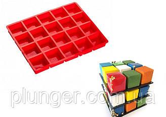 Форма силіконова для випічки 20 кубиків