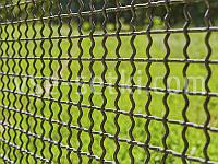 Сетка вольерная канилированная черная. Ячейка:25х25, Проволока:4,0мм, Лист:1000х2000мм., фото 1