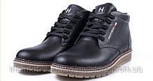Мужские кожаные зимние ботинки Tommy Hilfiger