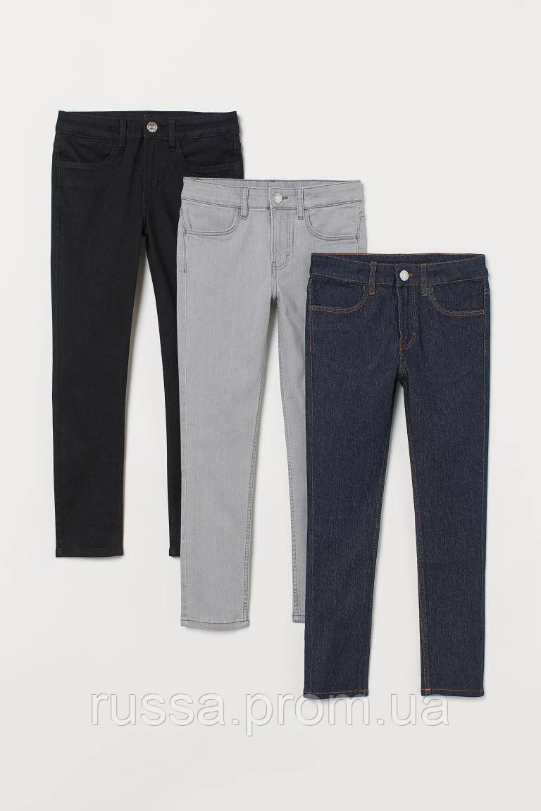 Модные детские джинсы Skinny НМ для мальчика (поштучно)