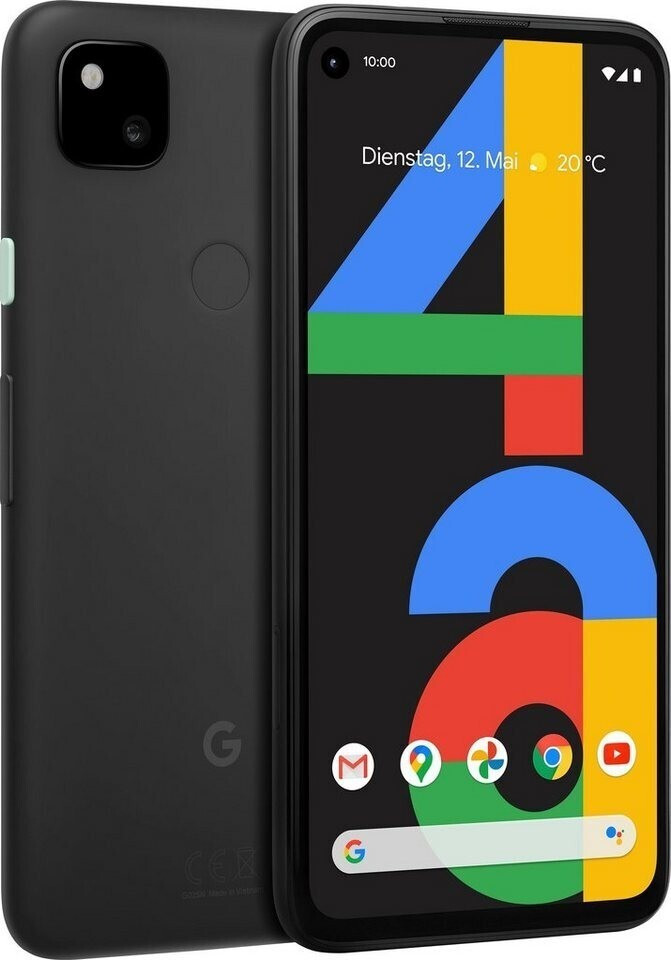 Смартфон Google Pixel 4a 6/128GB Just Black Dual SIM (EU версия)