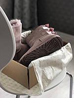 Комфортные угги для девушек BAILEY BOW II DUSK замшевые. Женская зимняя обувь УГГи с двумя бантами