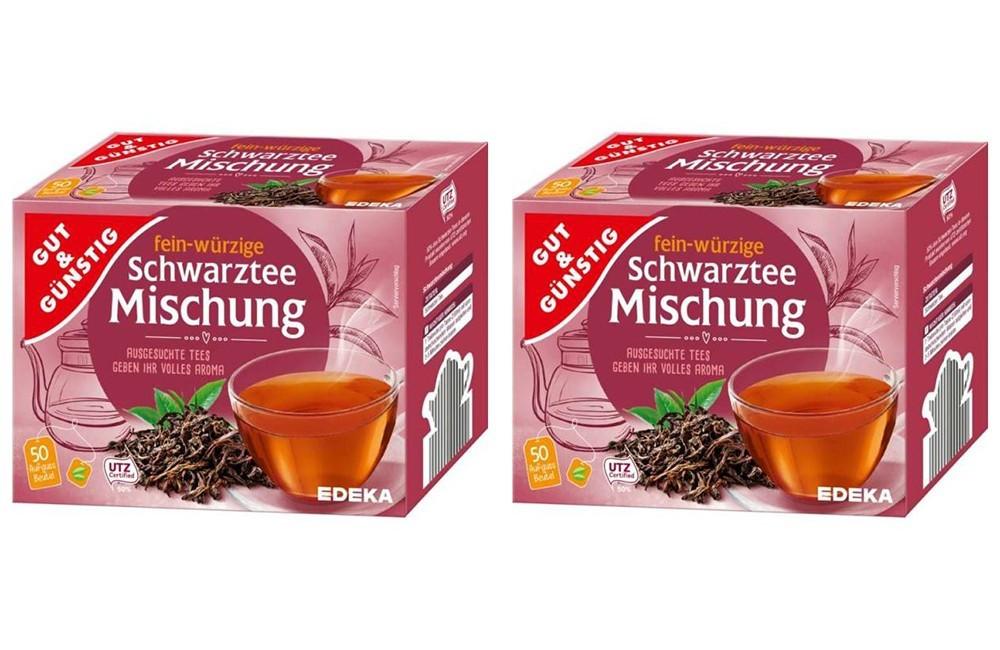 Чай черный Gut & Günstig 2 * 50 пакетиков (100 пакетиков)