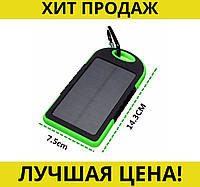 Solar Power Bank 5000 mAh - аккумулятор на солнечной батарее- Новинка! Купить