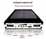 Солнечная батарея Power Bank Solar+led 20000S (зарядное устройство Павер Банк Солар 20000 мАч), фото 2