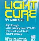 Клей УФ Light Cure UV 100 грамм Adhesive ультрафиолетовый для стекла, металла, экранов телефонов