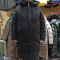 Новинка зима 2020-2021, женская зимняя куртка, пальто , пуховик Mishele 21120 больших размеров 56, 58, 60, 62