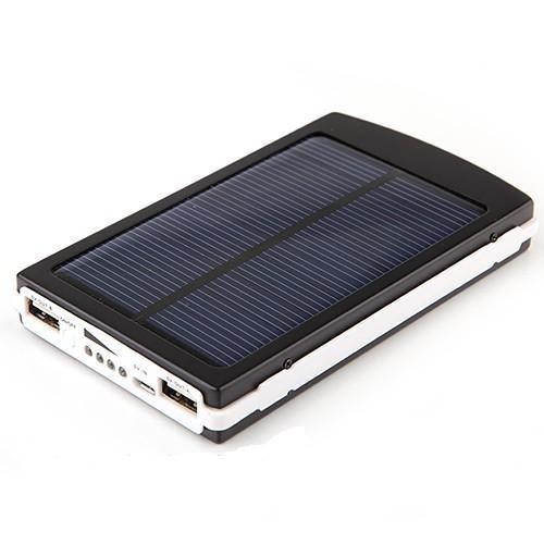 Солнечная батарея Power Bank Solar+led 20000S (зарядное устройство Павер Банк Солар 20000 мАч)