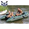 Моторная лодка Ладья ЛТ-330М-Е четырехместная надувная лодка пвх под мотор слань-коврик баллон 40 човен гумови, фото 3