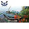 Моторная лодка Ладья ЛТ-330М-Е четырехместная надувная лодка пвх под мотор слань-коврик баллон 40 човен гумови, фото 4