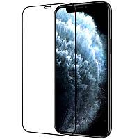 Защитное стекло Optima 5D для iPhone 12 Pro Max Black (айфон 12 про макс)