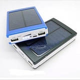 Солнечная батарея Power Bank Solar+led 20000S (зарядное устройство Павер Банк Солар 20000 мАч), фото 3