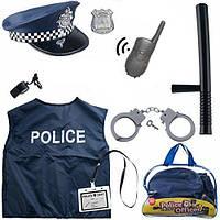 Детский костюм полицейского с наручникамы