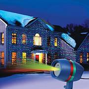Лазерный рождественский проектор Star Shower Motion 2 режима управления