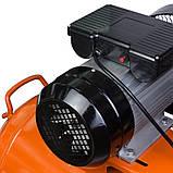 Компресор Grad V 2.5 кВт 50л (2 крана), фото 6