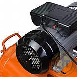 Компрессор ременной V 2.5кВт 100л (2 крана) Grad (7044185) + Набор лакокрасочный 5шт с в/б GRAD, фото 3