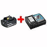 Набор аккумулятора и зарядного устройства Makita (BL1830B DC18RC), фото 2