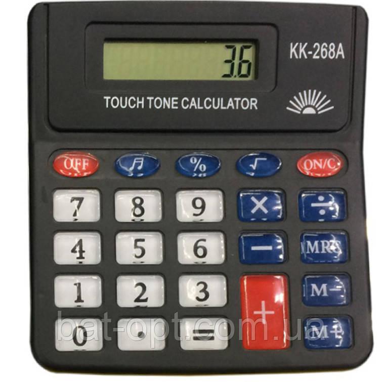 Калькулятор настольный Keenly KK-268A/729A/8819A 8-разрядный (125x116x28мм)