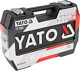 "Набір торцевих головок 1/2"" 1/4"" YATO 94 предмета YT-12681, фото 5"
