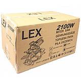 Пила торцювальна LEX LXCM210, фото 7