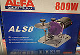 Станок для заточки победитовых дисков AL-FA ALS8, фото 6