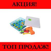 Мозаика конструктор с шуруповертом Creative Puzzle 2D, рекомендую