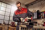 Набір кутова безщіткова шліфмашина Einhell Axxio Ø125 мм + зарядний пристрій і акумулятор 18V 4,0, фото 4