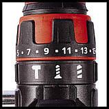 Набор ударный шуруповерт Einhell TE-CD 18/48 Li-i-Solo + зарядное устройство и аккумулятор 18V 3,0 Ah, фото 2