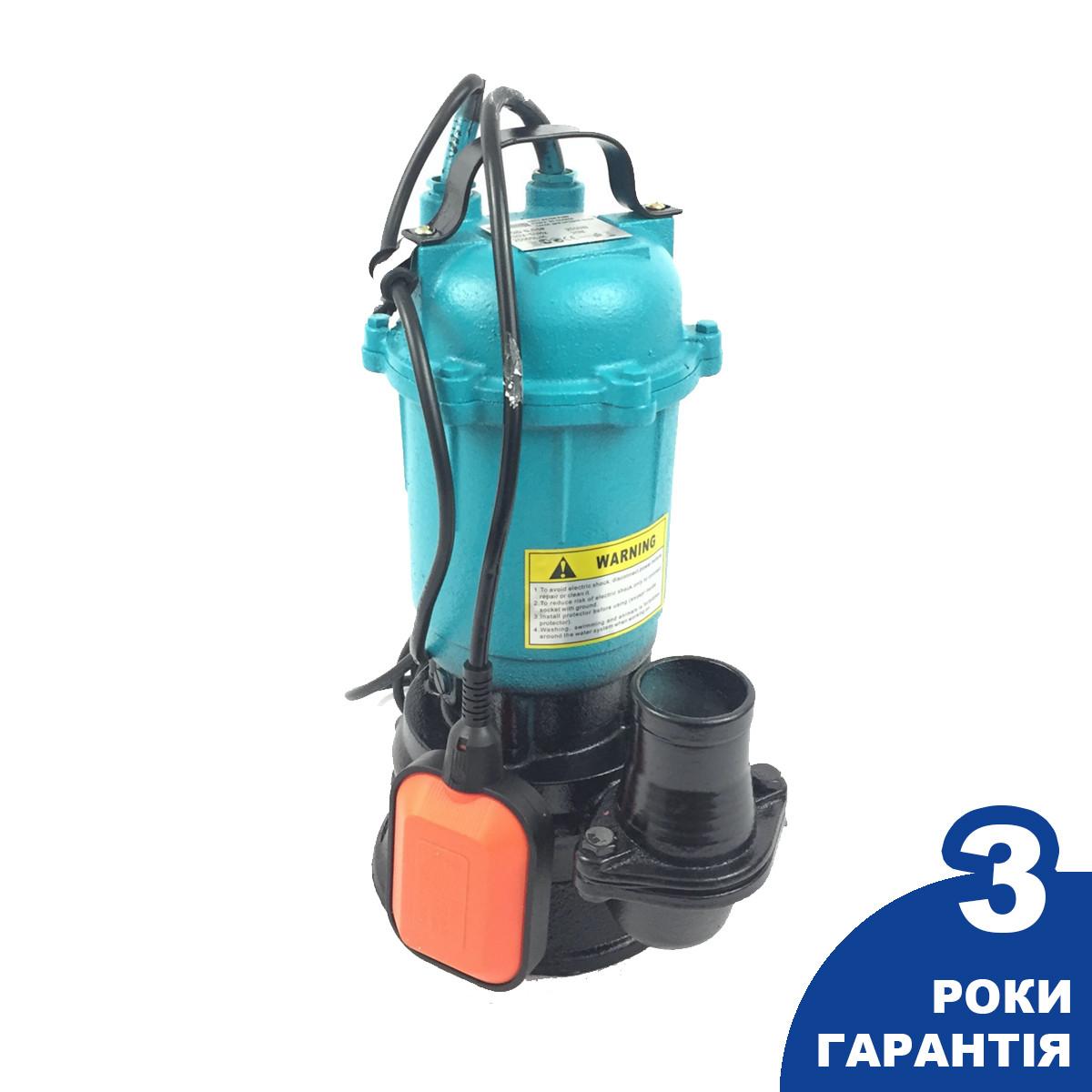 Насос фекальний для септика Euro Craft 2550W Польща (WQD0,55F)