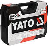 Набор инструмента YATO YT-12685 с аккумуляторной отверткой, фото 5