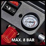 Компрессор аккумуляторный Einhell TE-AC 36/6/8 Li OF Set (4020450) + набор лакокрасочный 5шт с в/б GRAD!, фото 5