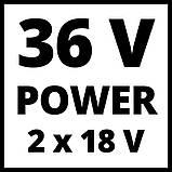 Компрессор аккумуляторный Einhell TE-AC 36/6/8 Li OF Set (4020450) + набор лакокрасочный 5шт с в/б GRAD!, фото 10