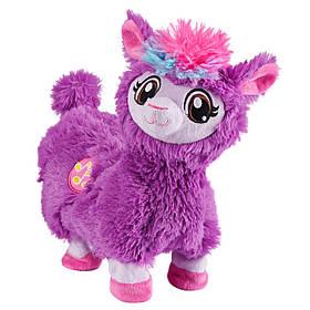Интерактивная игрушка мягкая Танцующая Лама Фиолетовая Pets Alive Boppi The Booty Shakin Llama